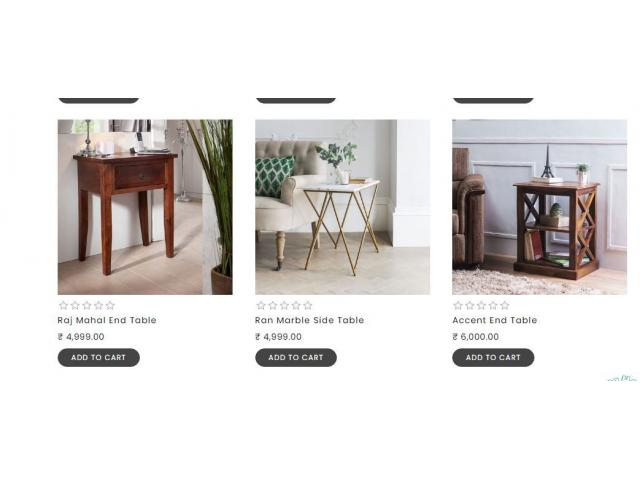 Visit thehomedekor And Buy Quality Side Tables at Affordable Prices