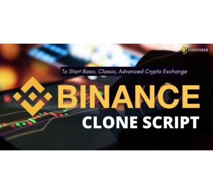Binance Clone Script Version 2.0