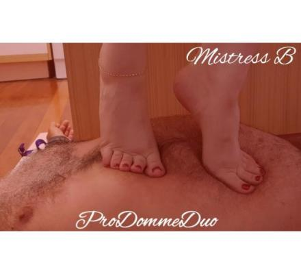 Foot Slave Sessions from $150 - ProDommeDuo