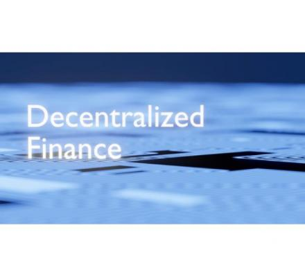 Use self-administered blockchain stages for launching Defi Open Finance Development