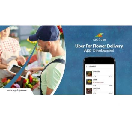 Launch your on-demand flower delivery app that has a variety of features