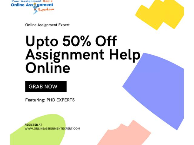 50% OFF: Get mechanical engineering assignment help from experts at huge discounts!