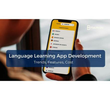Online Language Learning App Development - MacAndro