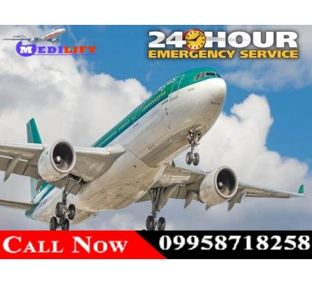 Full ICU Setups Charter Aircraft in Delhi by Medilift Air Ambulance at Low Fare