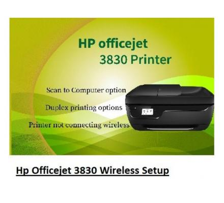 How to Hp Officejet 3830 Wireless Setup