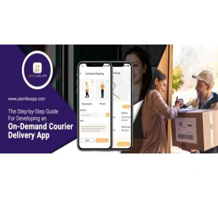 Uber for Courier, a reliable and seamless app for parcel delivery