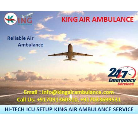 Now Shift Patient by King Air Ambulance Services from Siliguri