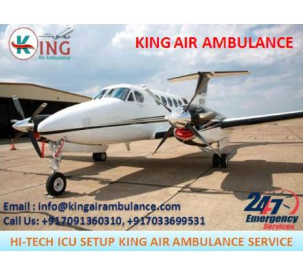 Most Demanding Air Ambulance in Bhopal is Available by King Ambulance
