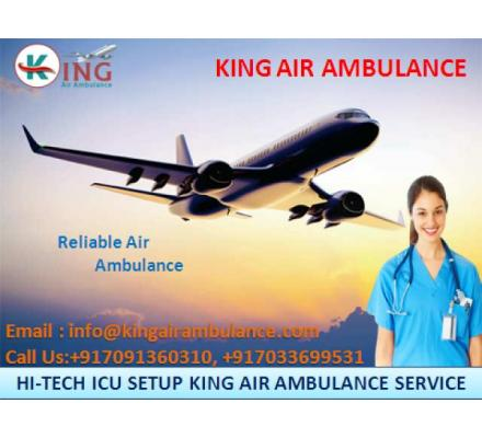 Book Safe Air Ambulance Services in Nagpur at Low-Fare by King Ambulance