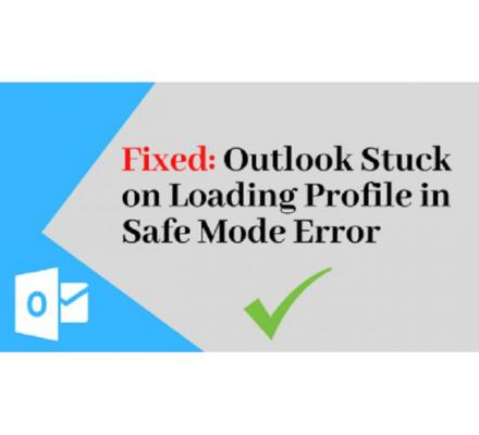 Solve: OUTLOOK LOADING PROFILE STUCK