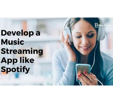 Music Streaming App Development - Build An Online Music Streaming & Podcast App
