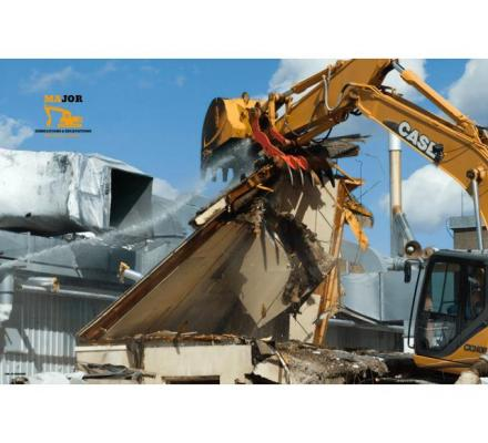 Major Demolitions & Excavations: The Experts in Demolition in Melbourne