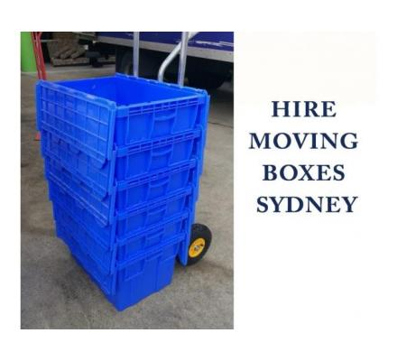 Rent Plastic Moving Boxes Sydney and move at quite an affordable price