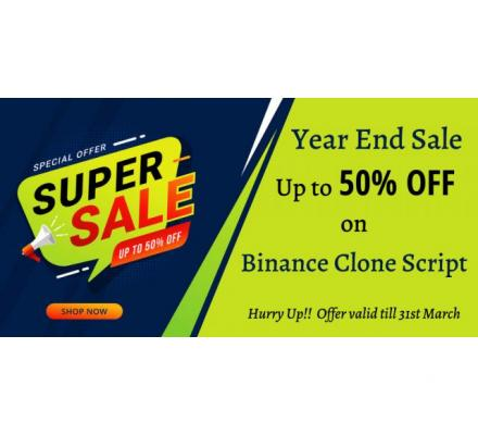 Best Crypto Deals of 2021 - Get up to 50 % OFF on Binance Clone Script