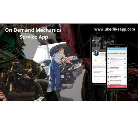 Venture into the Mechanic industry with an Uber for mechanic app