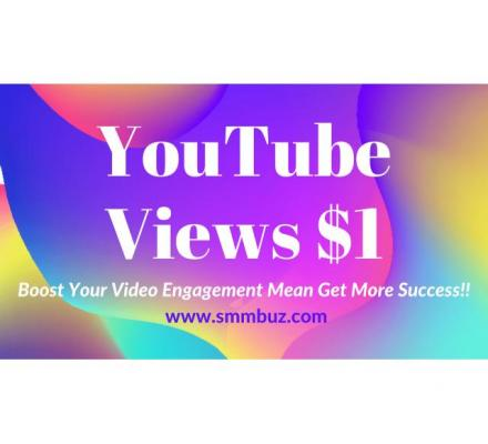 Buy YouTube Views and Subscribers from SMM Buz