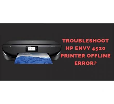 How to Fix HP Envy 4520 Printer Offline