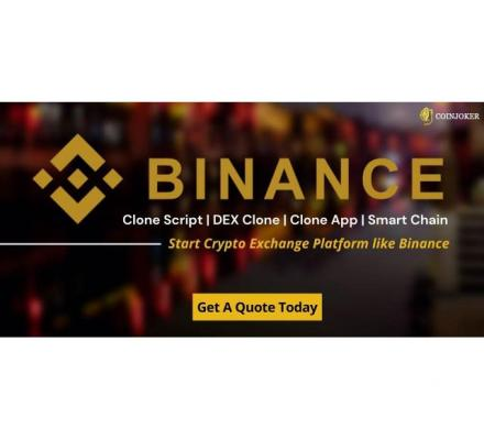 Binance Clone Script | Binance Clone App
