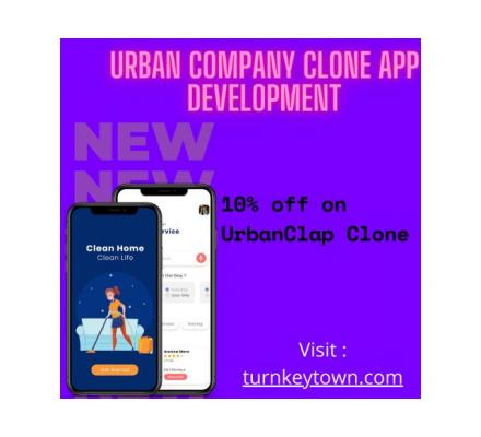 Turn your Online store with Urban Company Clone App Development