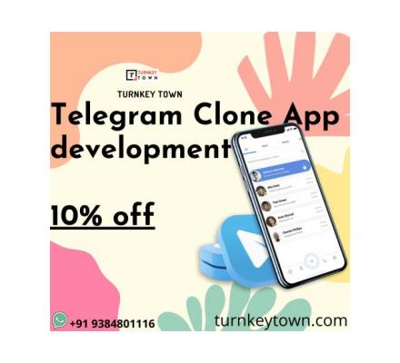 Increase customer engagement with Telegram Clone App Development