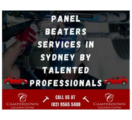 Panel Beaters Services in Sydney by Talented Professionals