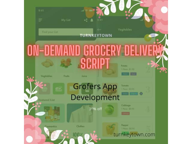 Get the Grofers clone script app for your eCommerce business