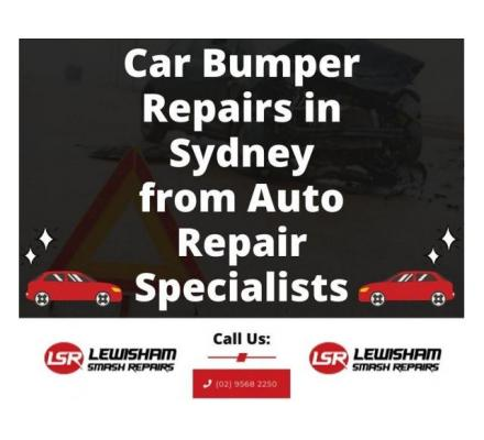 Car Bumper Repairs in Sydney from Auto Repair Specialists