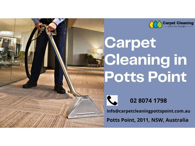Carpet Cleaning Services in Potts Points