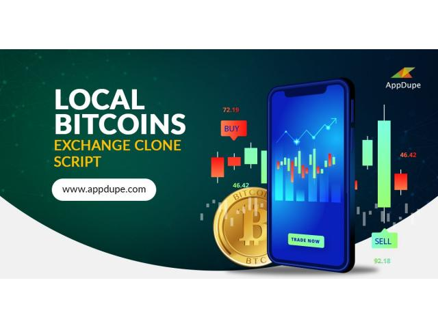 Start your P2P Crypto trading business with Localbitcoins clone script