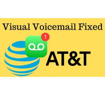 How can I activate AT&T Visual Voicemail?