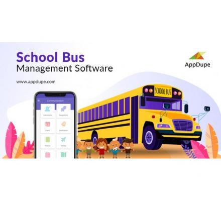 Indulge in school bus transportation services with the school bus software