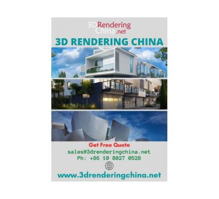 3D Rendering Services in China
