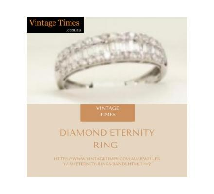 Best Price of diamond eternity ring from Vintage Times