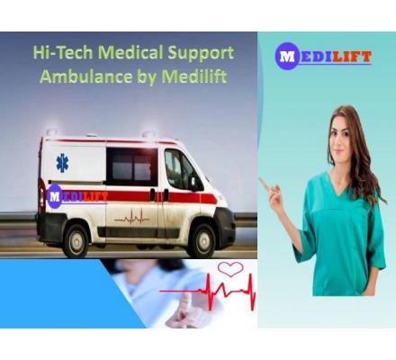 Book the Lowest Fare Ambulance Service in Buxar with Medical Facility