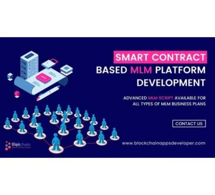 Smart Contract Based MLM Software | Ethereum Smart Contract MLM Software | Tron Smart Contract MLM S