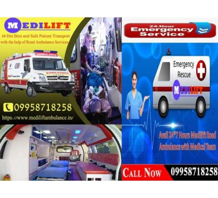 Pick the Safest Patient Shifting Ambulance Service in Darbhanga