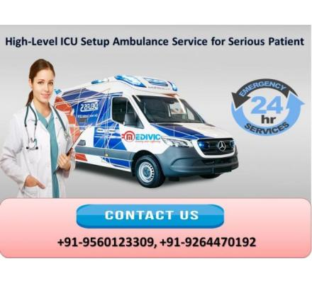 Book Most Dedicated Medivic Ambulance Service in Delhi