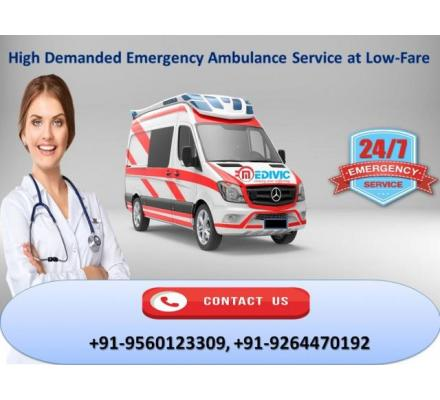 Take Paramount Medivic Ambulance Service in Varanasi
