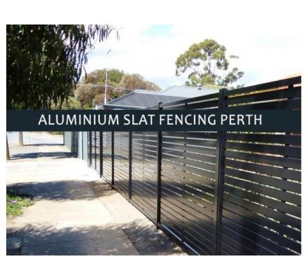 Aluminium slat fencing Perth by the best in the industry