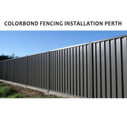 The best benefits of colorbond fencing installation Perth from us