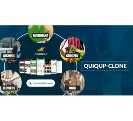 On-Demand Delivery App With Quiqup Clone