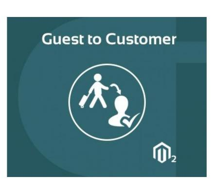Magento 2 guest to customer