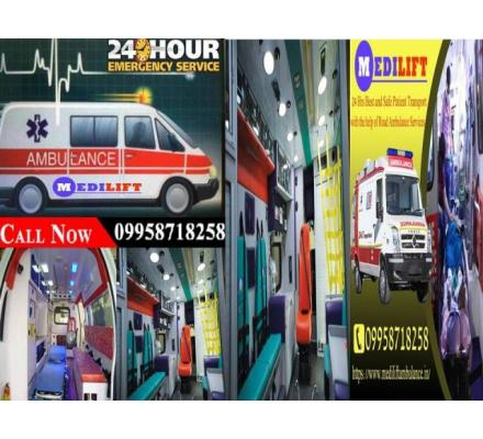 Get the Complete ICU Setups Ambulance Service in Varanasi
