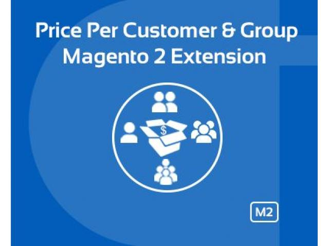 MAGENTO 2 PRICE PER CUSTOMER AND GROUP