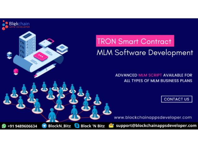 Tron Smart Contract MLM Software To Start Smart Contract MLM on Tron
