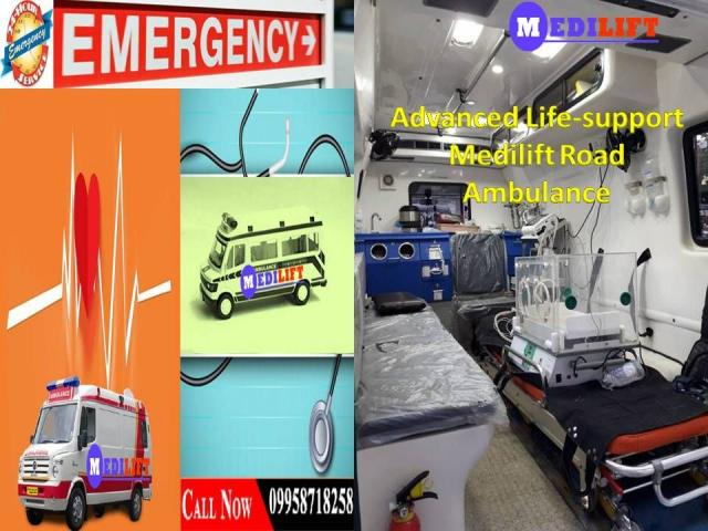 Get Hassle-Free Patient Transfer Ambulance Service in Danapur