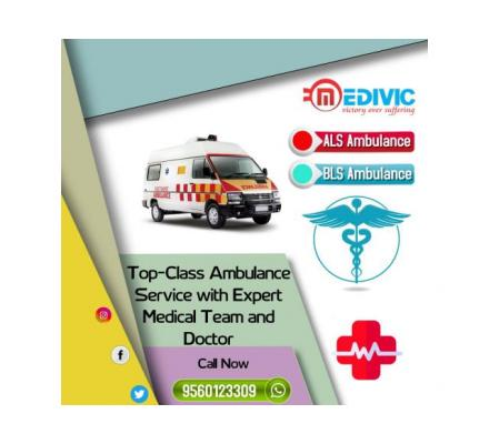 Top-Listed Medivic Ambulance Service in Muzaffarpur with Physician