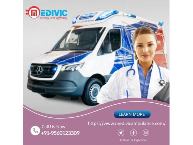 Exclusive Medical Support by Medivic Ambulance Service in Patna