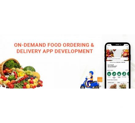 On Demand Food Delivery App Development Company