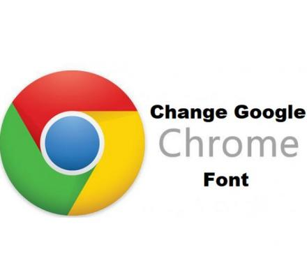 How to change Chrome settings fonts?